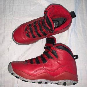 Air Jordan 10 Retro BG 'Bulls Over Broadway' (GS)